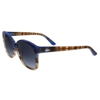 Lacoste L701/S 424 Blue/Brown Gradient Square sunglasses Sunglasses