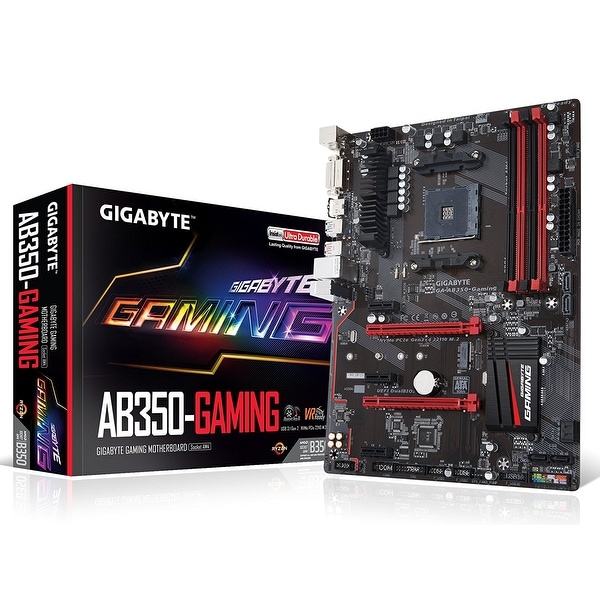 Gigabyte Ga-Ab350-Gaming Ddr4 Atx Desktop Motherboard - B350 Chipset Socket Am4