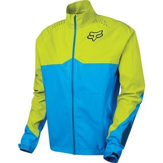 Fox Racing Downpour Lt Jacket - Blue/Yellow - 17309