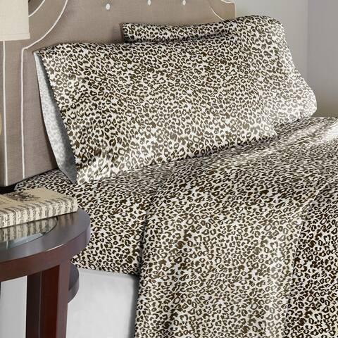 Pointehaven 180GSM Soft Cotton Flannel Sheet Set