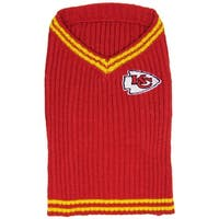 NFL Kansas City Chiefs V-Neck Sweater