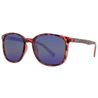 Kenneth Cole Reaction KC1275 52X Women's Dark Havana Blue Sunglasses - Dark Havana - 54mm-19mm-140mm
