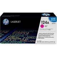 HP 124A Magenta Original LaserJet Toner Cartridge (Q6003A)(Single Pack)