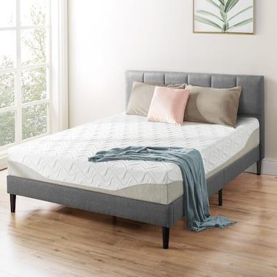 9 Inch Gel Memory Foam Mattress By Crown Comfort