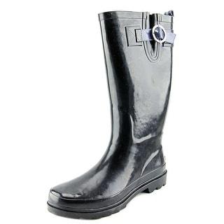 Nautica Saybrook Women  Round Toe Synthetic Black Rain Boot
