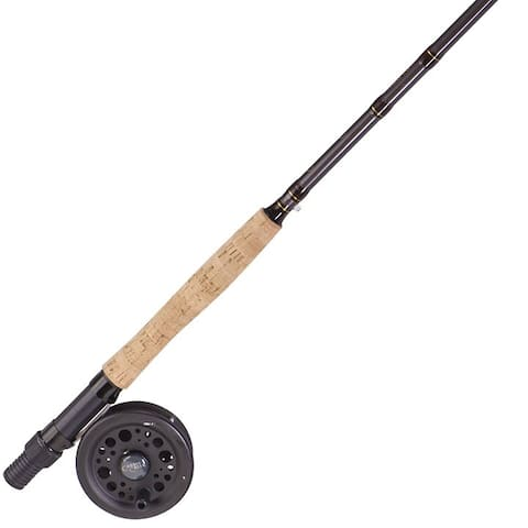 Zebco cc65cns6 zebco *zs1043* caddis creek 65 combo w/9' 5/6 wt fly rod/ht