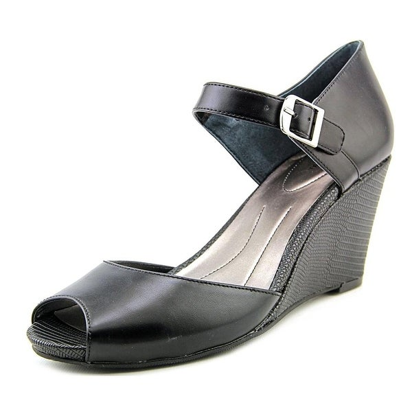 Style & Co. Womens Bessye Peep Toe Casual Platform Sandals