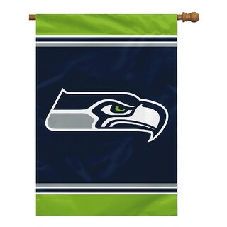 Fremont Die Inc Seattle Seahawks House Banner 1- Sided House Banner 1 Sided