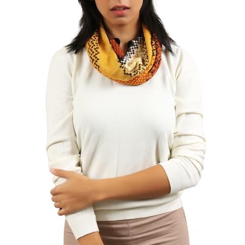 Missoni Yellow/Orange Knit Scarf - 16-72