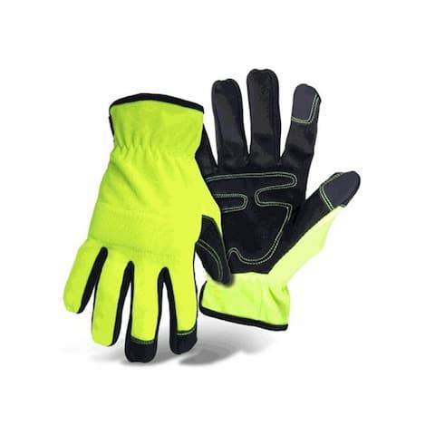Boss 901X Mens Mechanic Style Work Gloves, X-Large