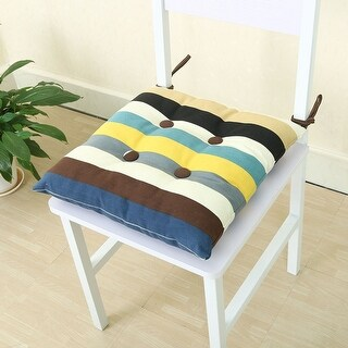 Dining Square Back Support Car Seat Chair Pillow Cushion Pad