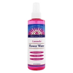 Heritage Store Flower Water Lavender Atominzer 8-ounce