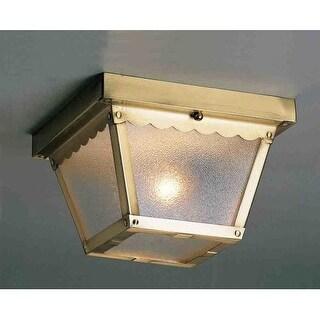 Volume Lighting V7232 2 Light Flush Mount Outdoor Ceiling Fixture