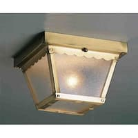 Volume Lighting V7232 2 Light Flush Mount Outdoor Ceiling Fixture