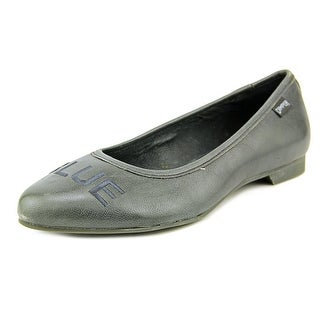 Camper Twins Round Toe Leather Flats