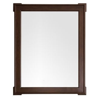James Martin Furniture Pasadena 35 in. Mirror, Burnished Mahogany