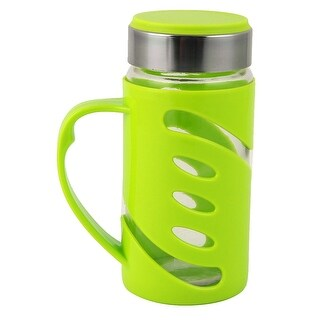 Outdoor Travelling Portable Drinking Mug Water Cup Bottle Container Green 350ml