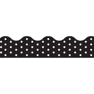 Polka Dots Black Terrific Trimmers