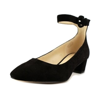 Nine West Brianyah   Round Toe Suede  Heels