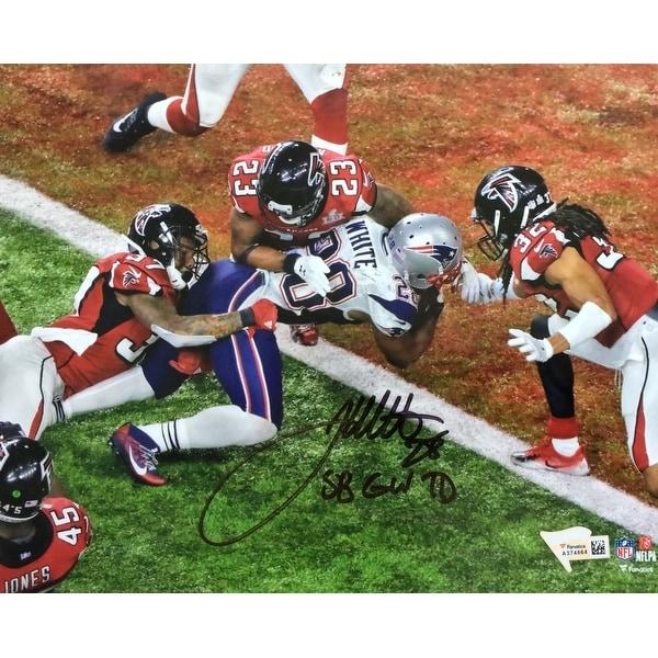 1ebc7e7f736 Shop James White Signed 8x10 Patriots Super Bowl 51 Photo SB GW TD Fanatics  - Free Shipping Today - Overstock - 22302636
