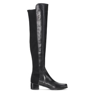 Stuart Weitzman Womens 5050 Leather Over-The-Knee Boots Size 40 / 10