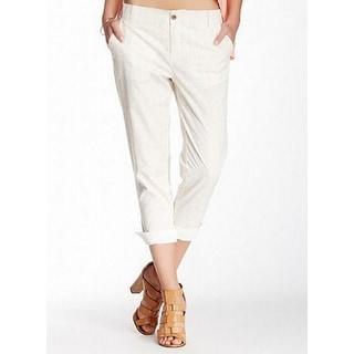 Michael Stars NEW Beige Women's Size Small S Capris Cropped Pants