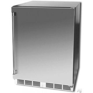 """Vintage HS24RO1R 24"""" Refrigerator & Kegerator - Stainless Steel"""