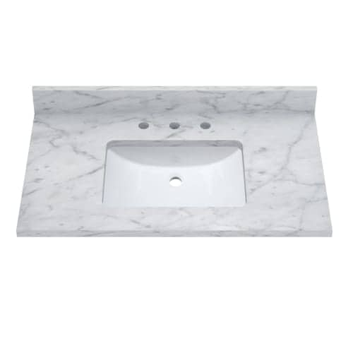 Sagehill Designs Rw3722 37 Marble Vanity Top With Undermount Sink