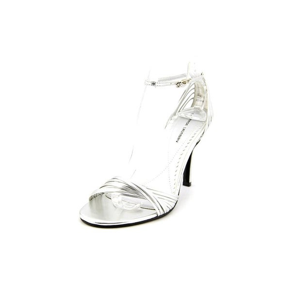 Chinese Laundry Willy Women Open Toe Synthetic Silver Sandals