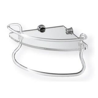 Link to Nameeks 620 Toscanaluce Glass Bathroom Shelf - Transparent Similar Items in Bathroom Furniture