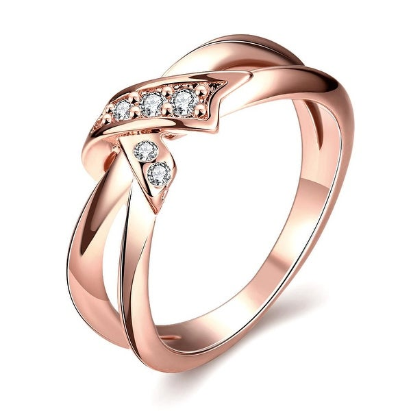 Bow-Tie Rose Gold Ring