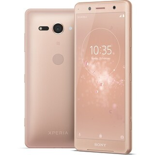 Sony Xperia XZ2 Compact Unlocked Smartphone (Coral Pink)