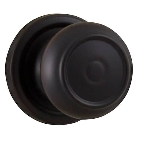 Weslock 1300Z Single Cylinder Interior Pack Featuring a Savannah Knob - Antique Brass