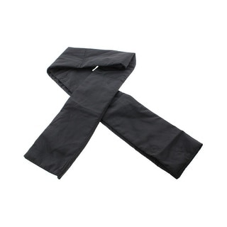 Zara Mens Solid Textured Rectangle Scarf - M