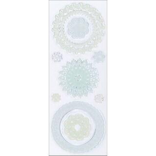 "Martha Stewart Clear Stamps 2.5""X7""-Doilies"