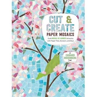 Race Point Publishing Books-Cut & Create Paper Mosaics