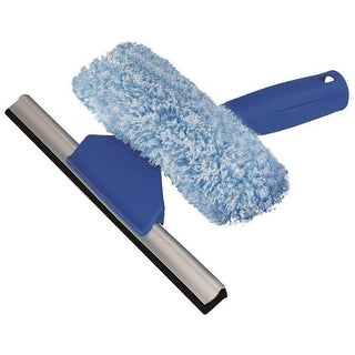 Unger 965640 Mini 2-in-1 Window Squeegee/Scrubber, 6""
