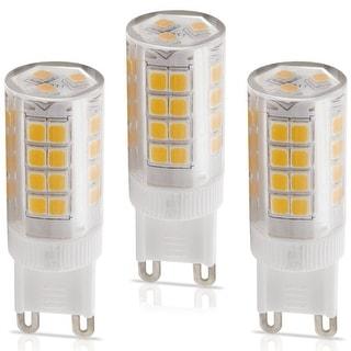 3 PACK of TORCHSTAR ETL Listed 3.5W G9 Base LED Light Bulb,2700K Soft White