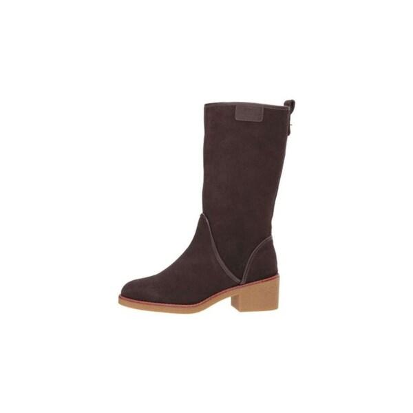 Coach Womens Palmer Closed Toe Mid-Calf Fashion Boots - 5
