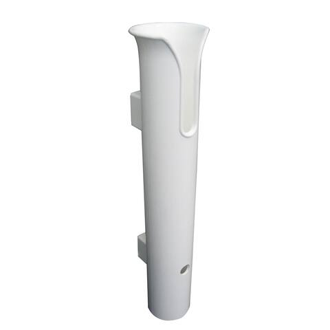 Taco poly stand-off rod holder white