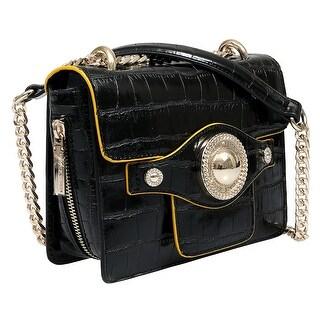 Versace EE1VSBBO4 E899 Black Shoulder Bag - 7.75-6-2.75