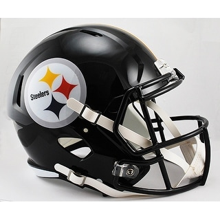 Pittsburgh Steelers Riddell Full Size Deluxe Replica Speed Football Helmet