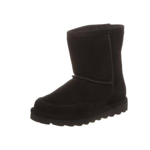 """Bearpaw Casual Boots Kids Brady 6"""" Shaft Round Toe Mud Guard"""