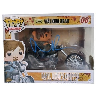 Norman Reedus Signed The Walking Dead Daryl's Chopper Pop! Rides Funko JSA