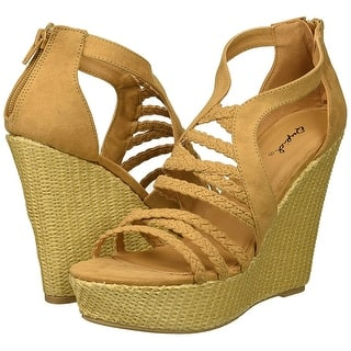 870211b1ddb Buy Size 7 Qupid Women s Sandals Online at Overstock