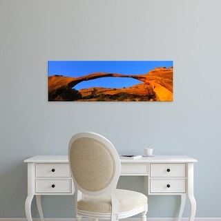 Easy Art Prints Panoramic Images's 'Arches National Park, Utah, USA' Premium Canvas Art
