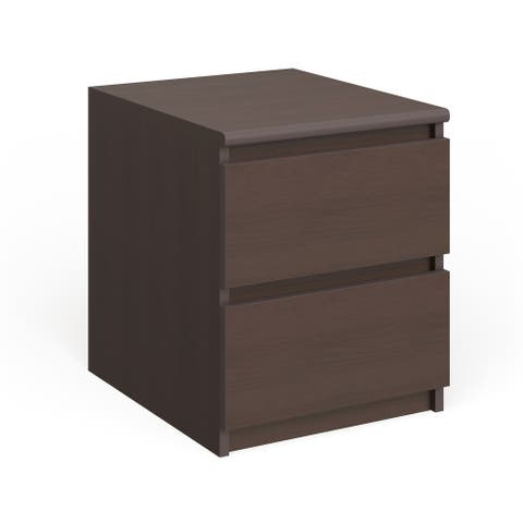Porch & Den McKellingon Contemporary 2-drawer Nightstand
