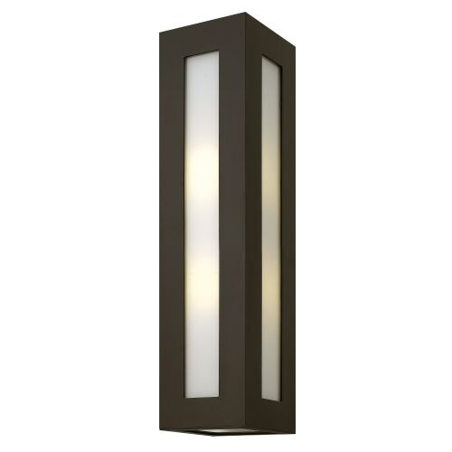 """Hinkley Lighting 2195 25.25"""" Height 2 Light Outdoor Wall Sconce from the Dorian Collection"""