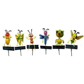 Assorted Decorative Garden Stakes -  24 Units