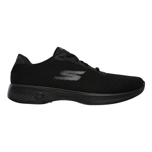 Skechers Go Walk 4 Glorify Womens Walking Sneakers Black 9 W